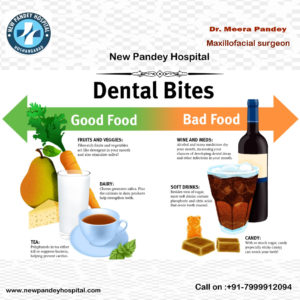 good and bad food for teeth